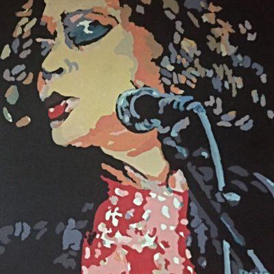 Etta James 24 x 24 $4500