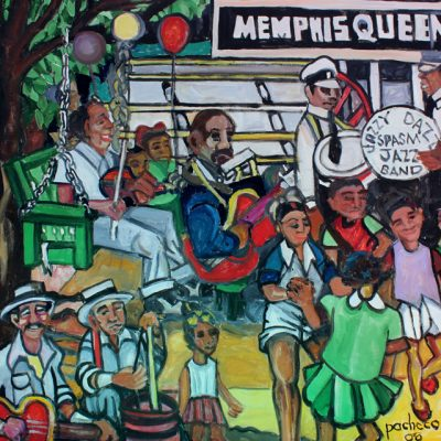 Memphis-Queen-Jazzy,-Dazzy,-Spasm-Band