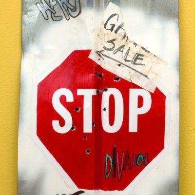 Stop 42 x 23 $1750-