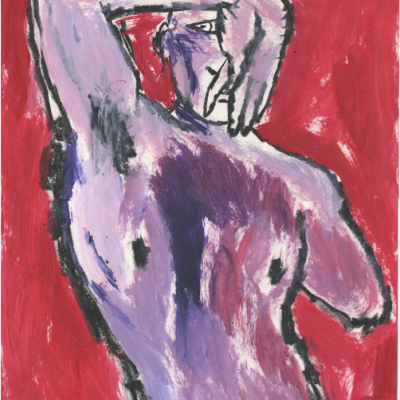 Untitled  Mixed Media on Paper 18 x 24  1996 $3300