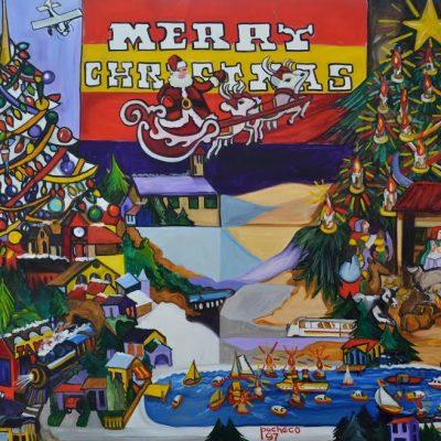 ferdie pacheco christmas painting