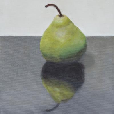 single pear green 16 x 8 1100