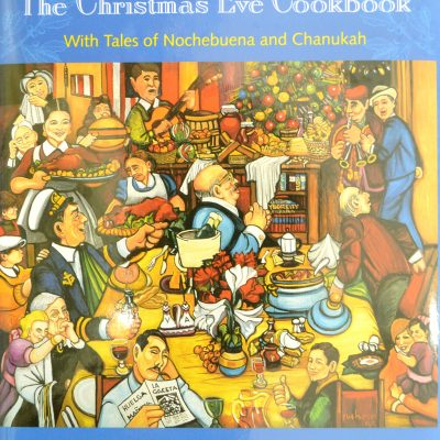 Christmas & Chanukah Cookbook Signed by Ferdie and Luisita $35