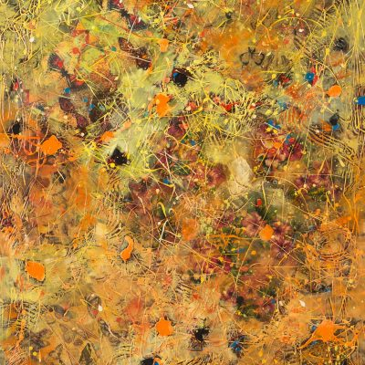 Cupids Blooms and Butterflies 72 x 36