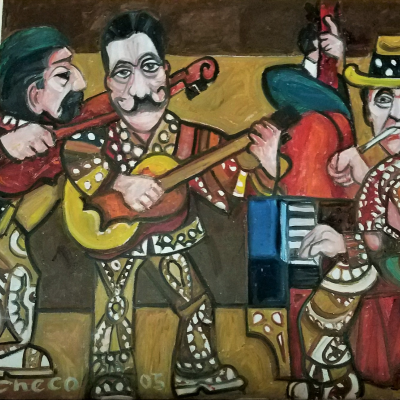 Hot Club of Jazz 24 x 36