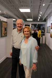 Eve Plumb & Richard Herd Reception